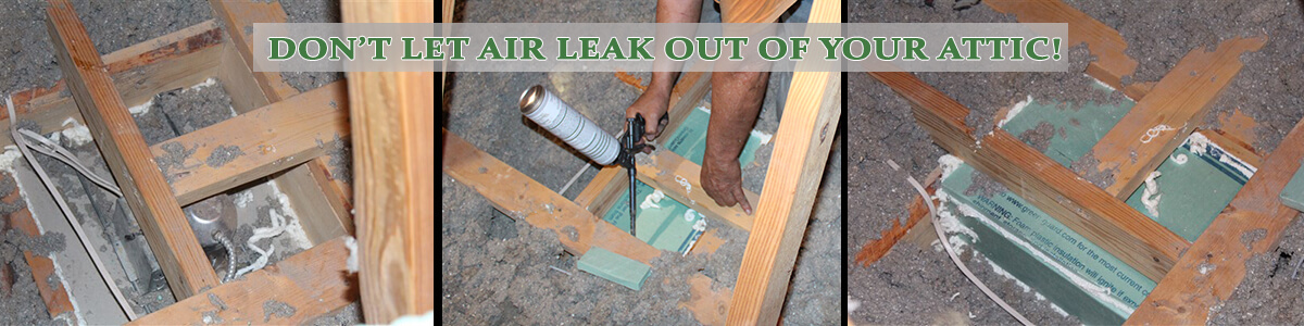 Air Sealing - Insulation