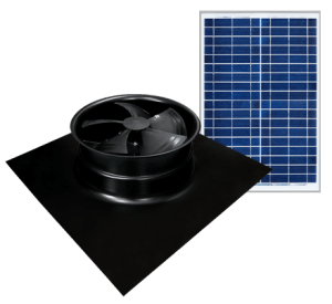 Solar Powered Attic Fan - Gable Series