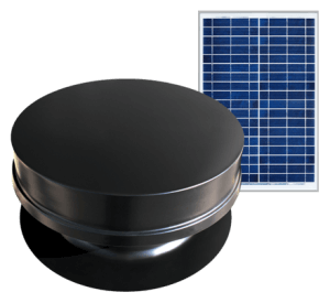 Solar Powered Attic Fan - Remote Series